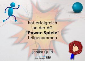 P = Power-Spiele